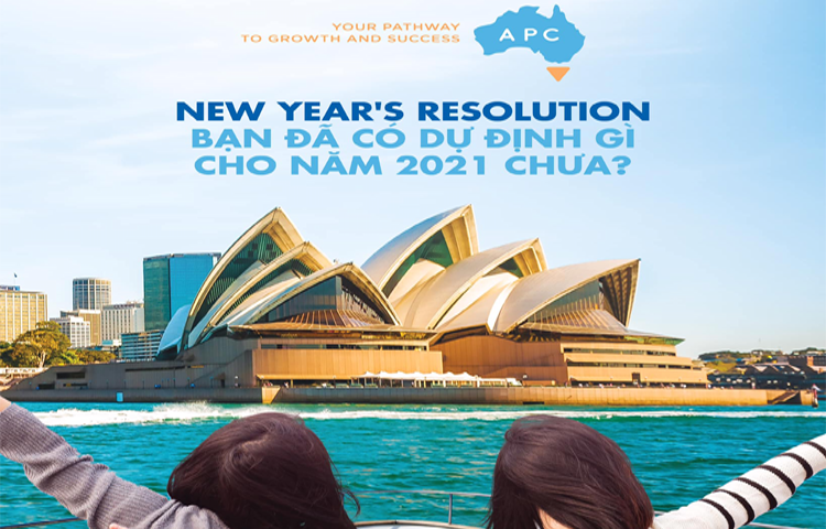 New year's resolution – Bạn đã có dự định gì cho năm 2021 chưa?