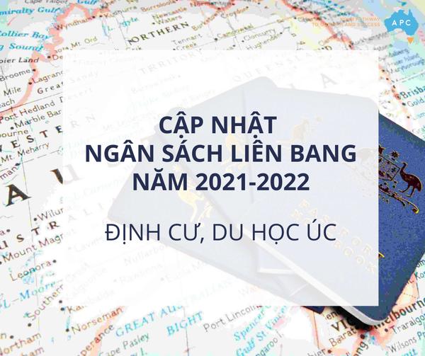 Cập nhật ngân sách liên bang năm 2021 – 2022